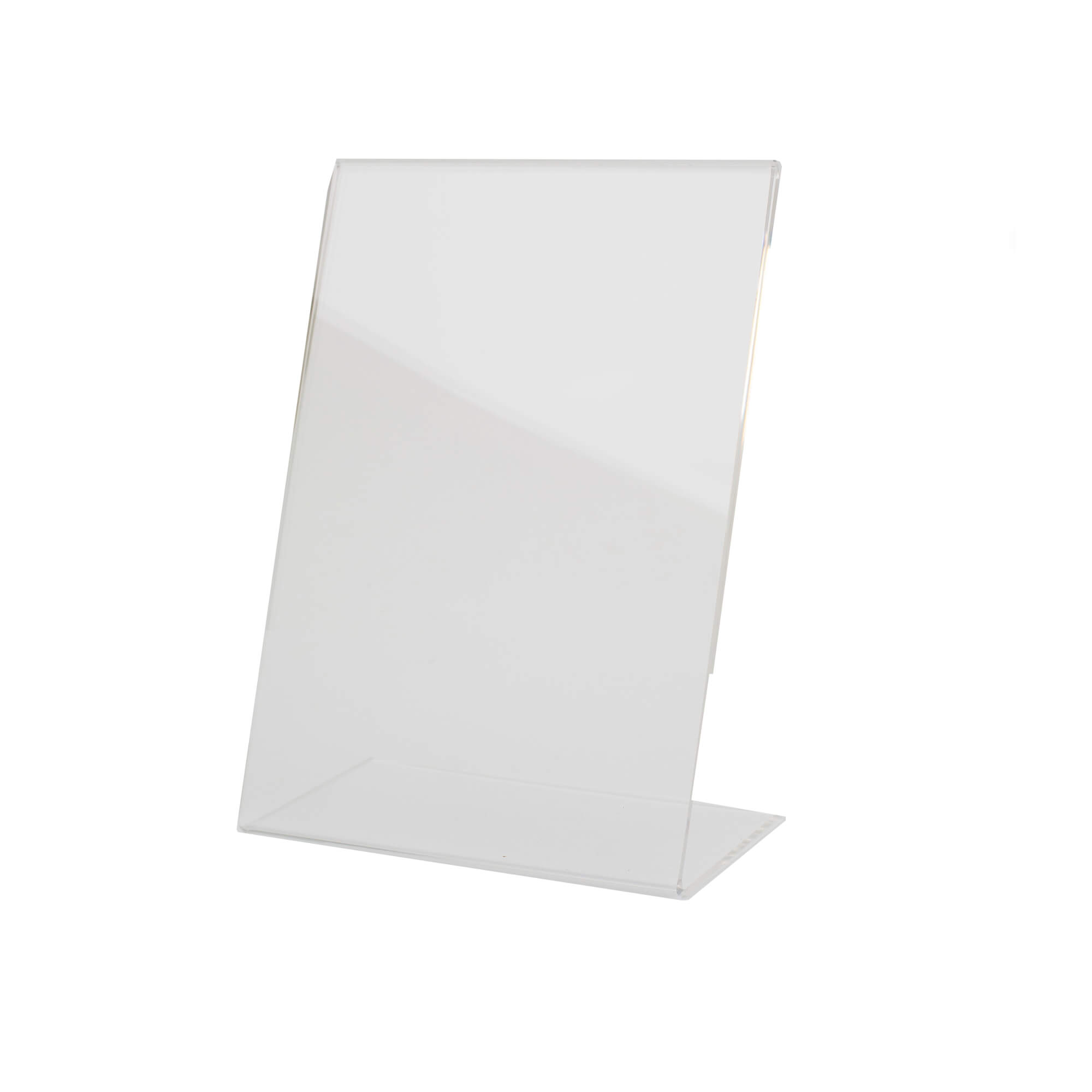 L alakú akril tábla