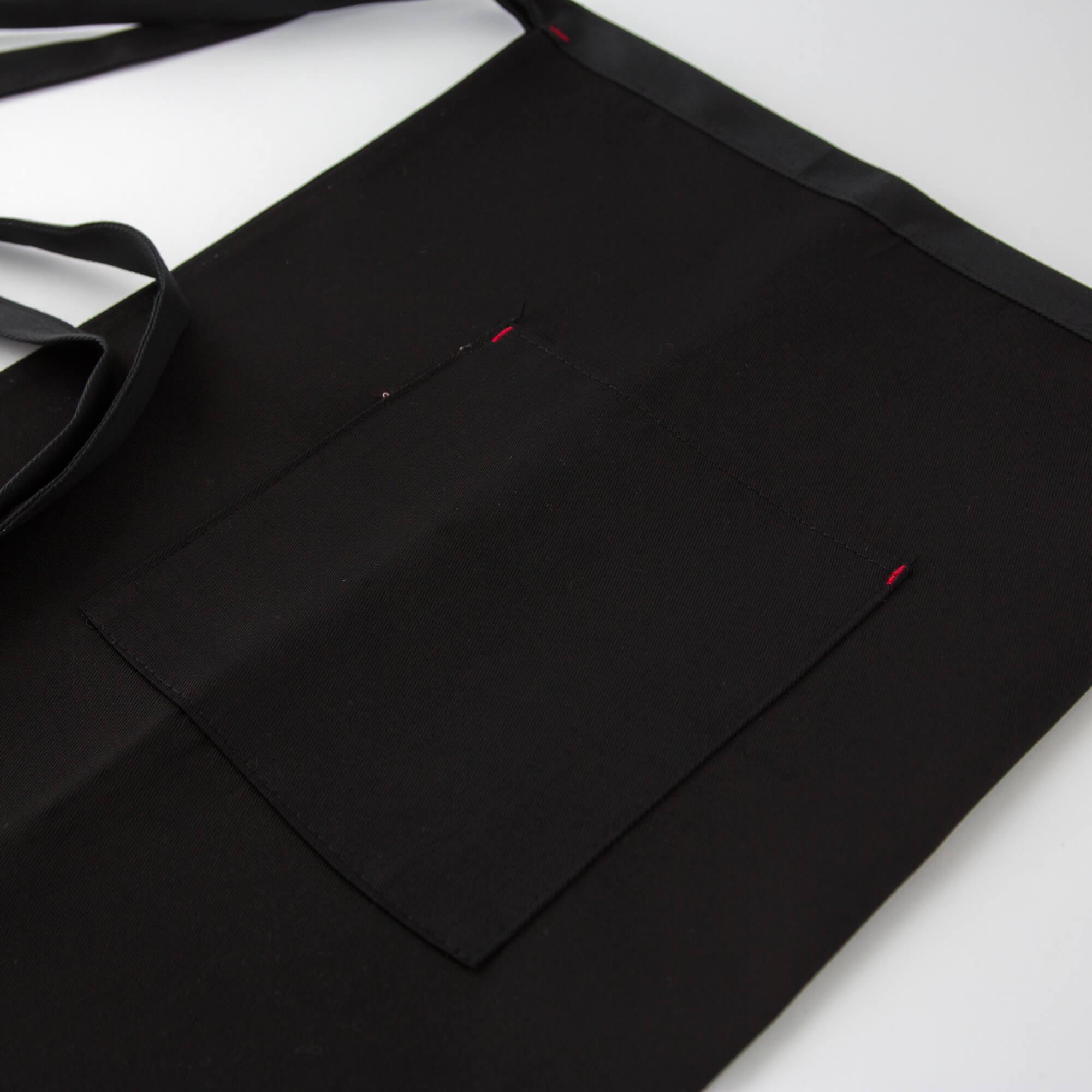 Fekete pincerkoteny 1 zsebbel 2