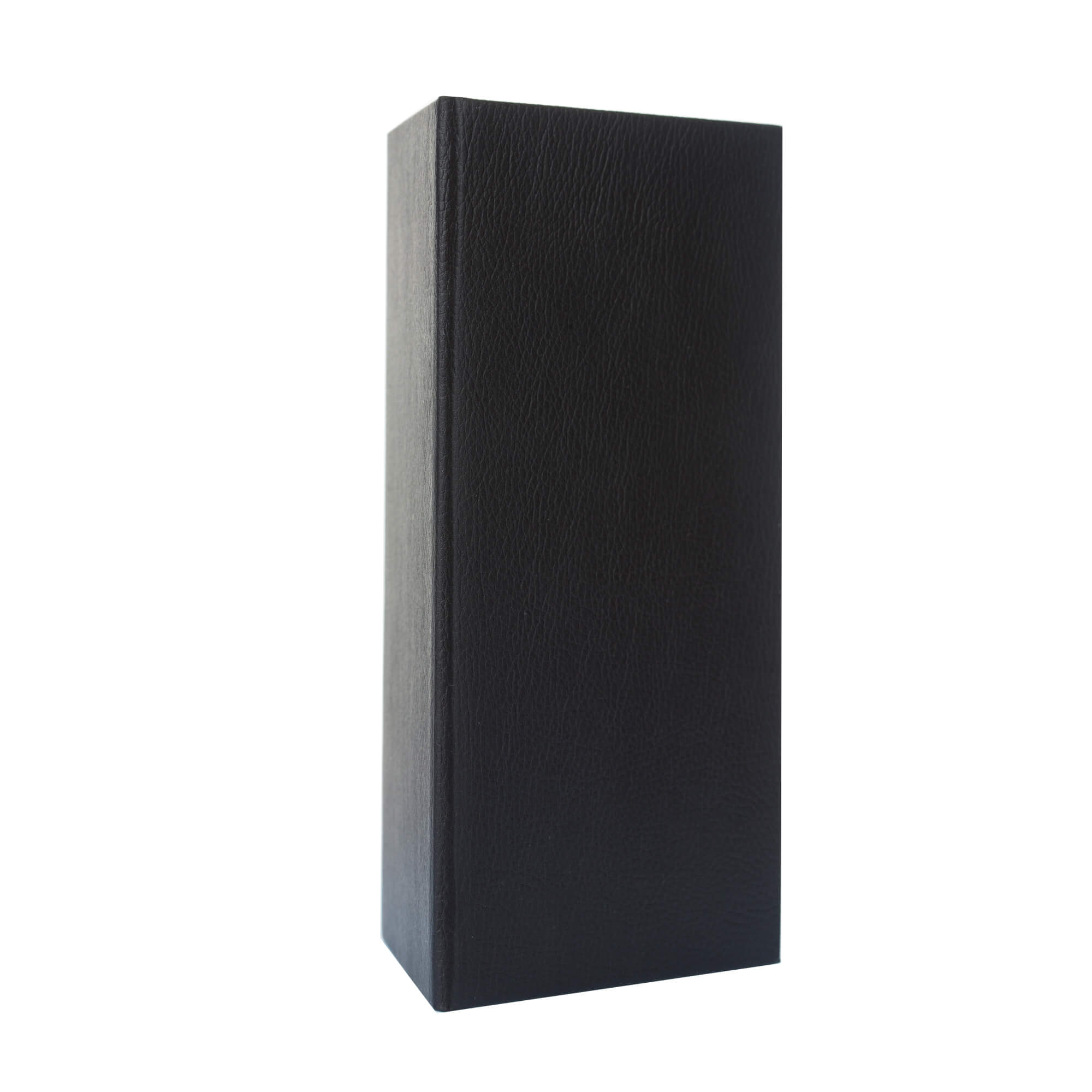 Fekete bőrhatású fizetőmappa, csáró 3