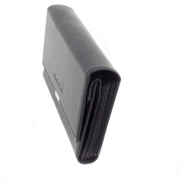 Fekete 7 zsebes brifko 20 cm (3)